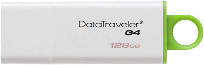 Kingston Digital 128GB Data Traveler 3.0 USB Flash Drive - Green (DTIG4/128GB)