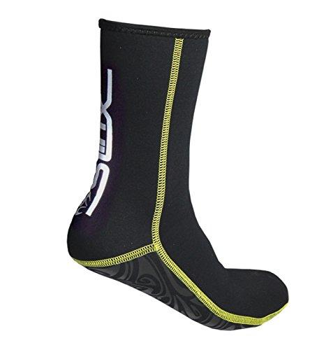 Neoprene Socks Wetsuit Booties Scuba Diving Socks 3MM for Men Women Kids Youth Waders, Beach Fin Socks Warm Flexible for Kayaking Swimming Snorkeling Surfing Sailing Canoeing Diving Water Sports (M)