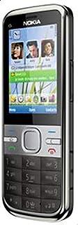 Nokia C Series C5-00 5MP Camera (Unlocked) Smartphone Nokia C5-00- Gray Color