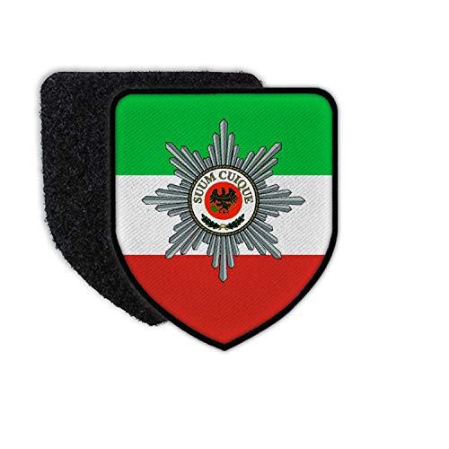 Copytec Patch FjgBtl 730 Feldjäger Bundeswehr Wappen Abzeichen Emblem NRW Bund #30125