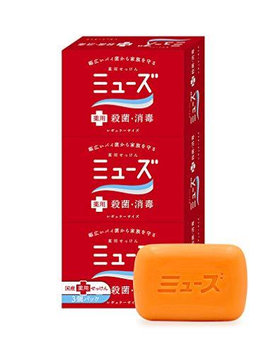 【医薬部外品】ミューズ石鹸レギュラー3個パック
