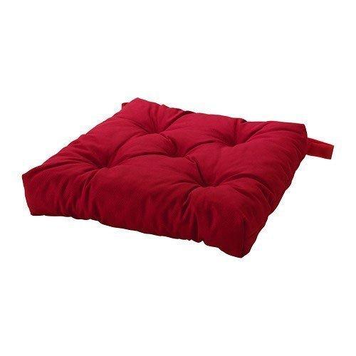 IKEA MALINDA-Cojín para silla, color rojo
