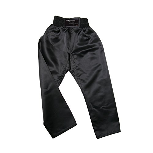 DEPICE Uni Hose Kickboxhose, Schwarz, 180 cm, kbhs-180