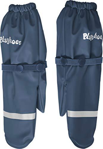 Playshoes Mädchen Matschhandschuh mit Fleece-Futter Handschuhe, Blau (Marine 11), 3 (Herstellergröße: 3)