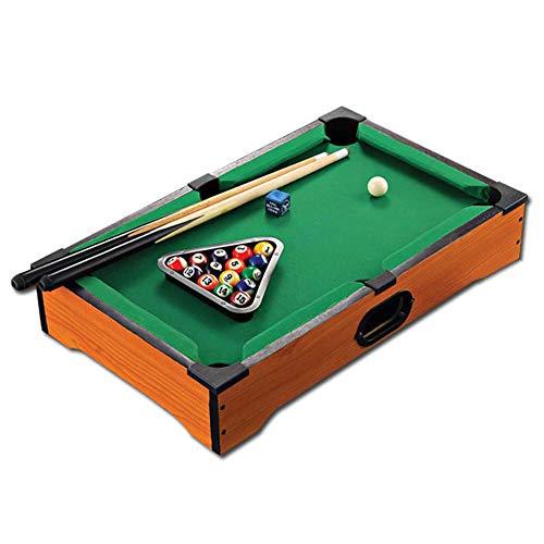 ZHJIUXING ZQ Tragbar Billardtische, Billard Snooker Tischplatte aus Holz, Billardtisch, Billardtisch für Kinder drinnen und draußen Geschenk für Kinder