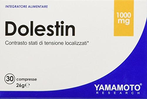 Yamamoto Research Dolestin® integratore alimentare a base di estratti vegetali di Curcuma, Zenzero e Pepe Nero 30 compresse