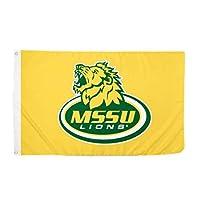 Desert Cactus Missouri Southern State University NCAA 100% Polyester Indoor Outdoor 3 feet x 5 feet Flag (Style 1a) [並行輸入品]