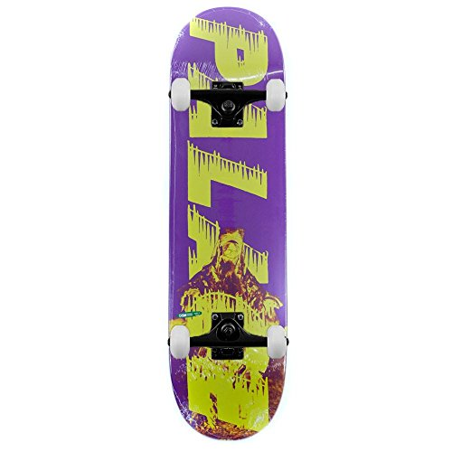 Palace Bankhead viola complete skateboard 21,3cm