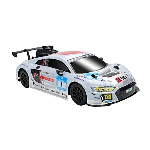 VanFty 1:14 Modelo de carreras de simulación Modelo de control remoto for ADLUT Y NIÑOS, RC Drift Carry Cars con niebla trasera fresca y luz LED, 2.4 GHz Remoto de alta velocidad 4WD RC Cars Fog Racer