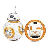 Shhjjyp 2.4G De Control Remoto Inteligente Robot De Star Wars Actualiza RC BB8 Robot with Music Sound Figura De Acción Regalo Juguetes Bola BB8 A Los Niños