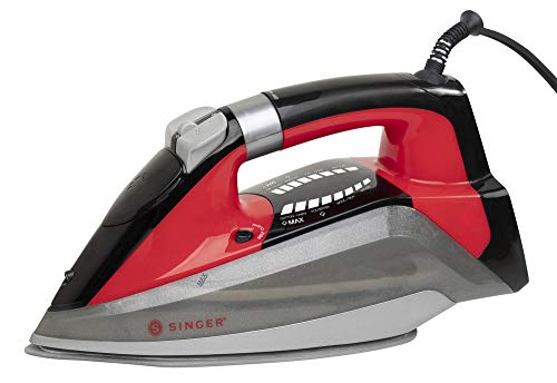 Review Of SINGER SteamLogic 7061 Iron with 1775 Watts, 25 Minutes of Continuous Steam Output, and 28...