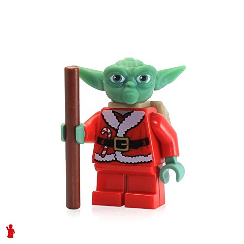 LEGO Star Wars Minifigure - Santa Advant Yoda with Backpack (7958)