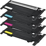 Bramacartuchos - 4 X Toners compatibles NON OEM SAMSUNG CLP-320, CLP-320N, CLP-320W, CLP-325, CLP-325N, CLP-325W, CLX-3180, CLX-3180FN, CLX-3180FW, CLX-3185, CLX-3185F, CLX-3185FN, CLX-3185FW, CLX-3185N, CLX-3185W CLT-K4072S