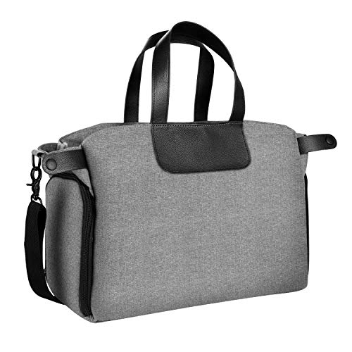 JOYPEA Breast Pump Bag Handles Bags Mommy Tote Bag Diaper Bag Portable Tote Pump Bag Baby Bottle Travel Bag