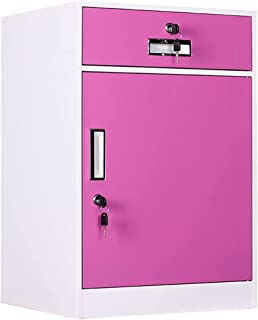 XYJHQEYJ Armoires de bureau armoires de stockage boîtes de fichier de stockage armoire armoire armoire verrouillage armoir...