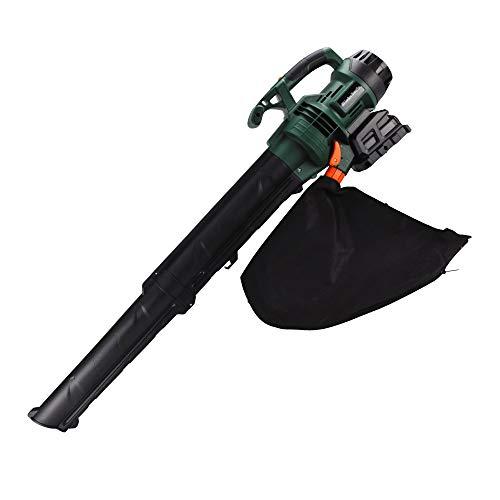 充電式 お手軽 ブロワバキューム 1個 20V ブロワー ブロア バッテリー 落葉 枯れ葉 強力 集塵 吸引 粉砕 掃除 清掃 家庭用 庭 コードレス 国華園