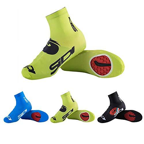 Cubre Zapatillas de Bicicleta, Ciclismo Cubierta de Zapatos, 1 par Zapatillas de Ciclismo para Deportes al Aire Libre Zapatillas para Calzado Impermeable Bota Hombre Mujer Ciclismo, Green, 3XL