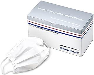 ミネベアミツミ 超精密加工部品メーカーが国内クリーンルームで生産し販売 ウイルス飛沫ろ過効率99%のフィルター(VFE)を採用 日本製不織布マスク