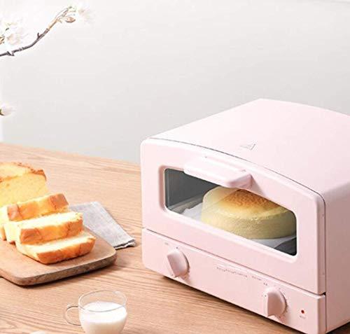 Oven, huishoudelijke apparaten, multifunctionele automatische oven, 12 liter kleine bakplaat, kan in de keuken/gebak/restaurant/café/shops/thee L worden gebruikt. Roze