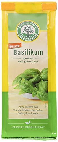 Lebensbaum Basilikum, gerebelt und getrocknet, 15 g