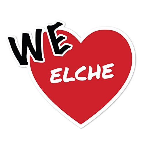 JOllify sticker - eland - 10 cm - Design: We love - Wir liebe