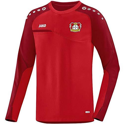 JAKO Fußball Bayer 04 Leverkusen Sweatshirt Prestige Kinder Pullover rot Gr 152