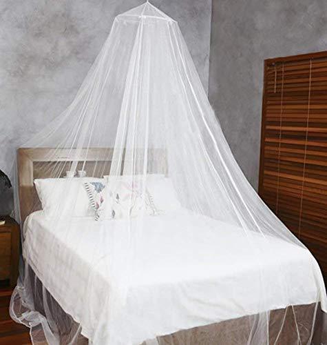 amaes Moskitonetz für Reise und zu Hause | Moskitonetz Mückennetz für Einzelbetten & Doppelbett & Hängematte & Kinderbett Schutz des Insektennetzes (0,6mx2,5mx12,5m)