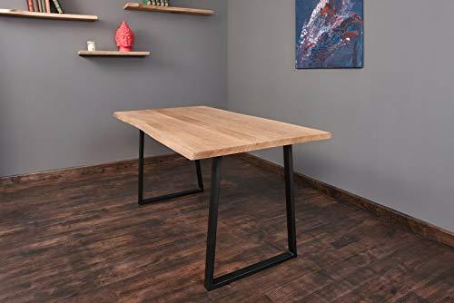 Exim Welt Massivholztisch Esche Tisch Esstisch Holztisch Baumtisch Baumkante