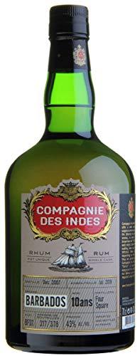 Compagnie des Indes Compagnie Des Indes Barbados Foursquare Single Cask Rum 10 Ans 43% Vol. 0,7L In Giftbox - 700 ml