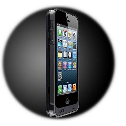 Ifans Cover / Custodia 2400mAh Ultra Slim iPhone 5 / 5S - Certificato Apple - MFI (Made For iPhone) - Colore Nero