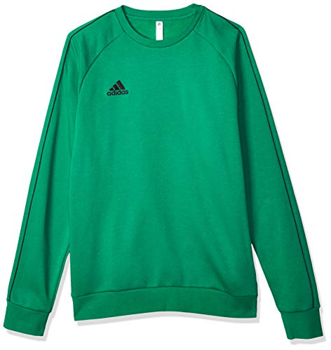 adidas Core 18 Sweat Top Sudadera, Hombre, Bold Green/Black, M