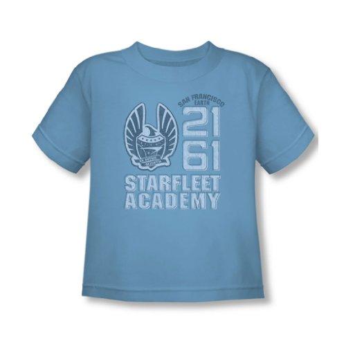 Star Trek - - 2161 Toddler T-shirt En Caroline du Bleu, 4T, Carolina Blue