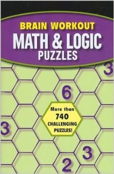 Brain Workout Math & Logic Puzzles 1435142519 Book Cover