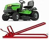 MADPAINTS Élévateur de tondeuse hydraulique pour tracteur de pelouse