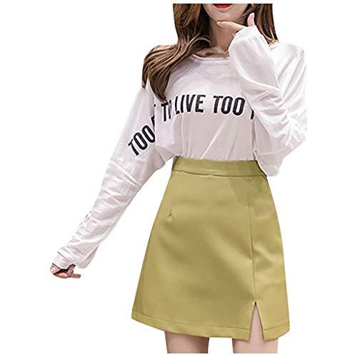 Bruiszz Skirt-dames leer korte rok onregelmatige hoge taille tas hip retro rok petticoat tutu tule rok jurk lang deel voor party performance dance dagelijks gebruik