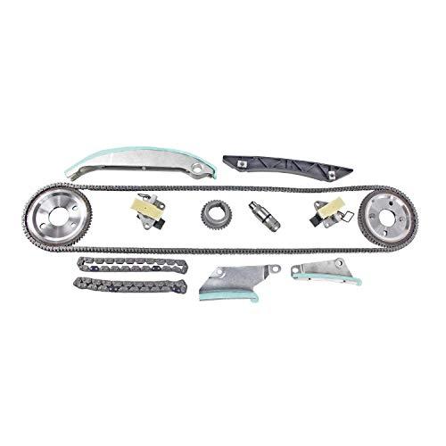 DNJ TK1116B Timing Chain Kit for 2009-2010 / Chrysler, Dodge / 300, Avenger, Charger, Sebring / 2.7L / DOHC / V6 / 24V / 167cid
