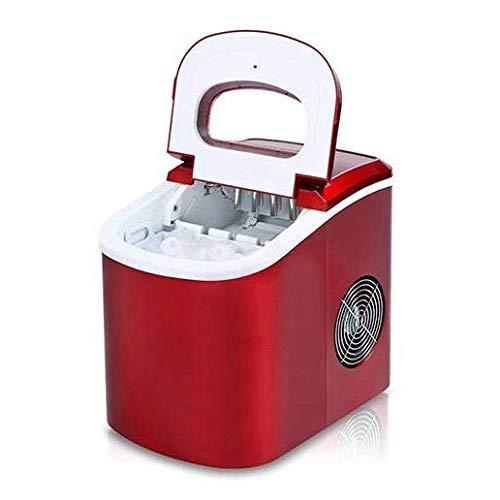maquina hielo Fábrica de hielo for encimera, Real Clear cubos de hielo, hielo real, Crystal Clear hielo, portátil automática de proyectiles de Ronda Bloque del cubo de hielo que hace la máquina pequeñ