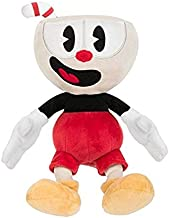 TANGGOOO Cup Mugman Plush Toy Mecup and Brocup Soft Stuffed Doll 25Cm Teen Must Haves Friendship Gifts Toddler Favourite Superhero Coloring Childhood Dream