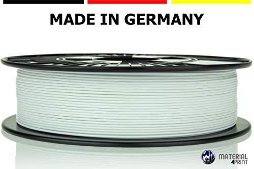 Material 4 Print PLA Filament 1,75 mm 750 g Rolle in Premium-Qualität für 3D Drucker und 3D Stift (Signalweiß)