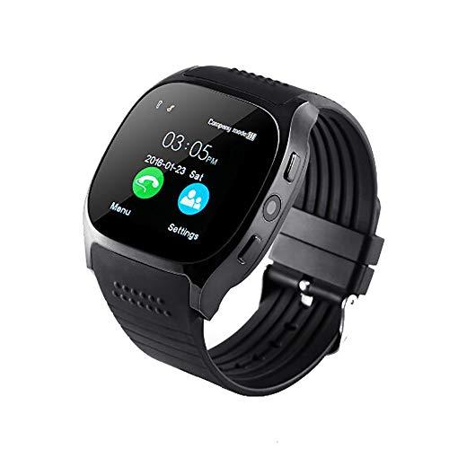 OSYARD Damen Herren Smartwatch Fitness Uhr Intelligente Armbanduhr Fitness Tracker Smart Watch Sport Uhr mit Schrittzähler Schlafüberwachung Nachrichtenerinnerung für Android und IOS Smartphones