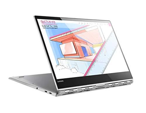 """Lenovo Yoga 920 - Portátil Convertible de 13.9"""" UHD (Intel Core i7-8550U, RAM de 8 GB, SSD de 512 GB, Intel UHD Graphics 620, Windows 10 Home) Color Negro - Teclado QWERTY Español"""