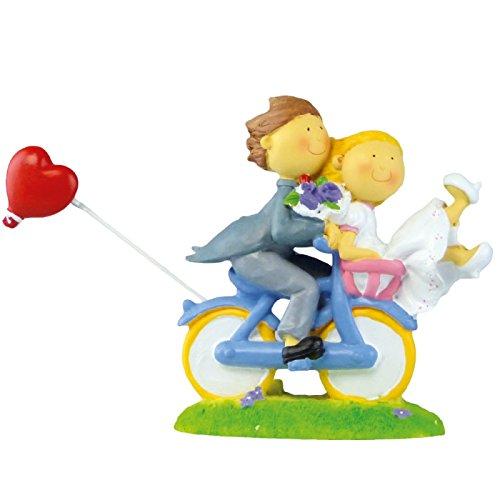 Brautpaar auf Fahrrad JD-10138