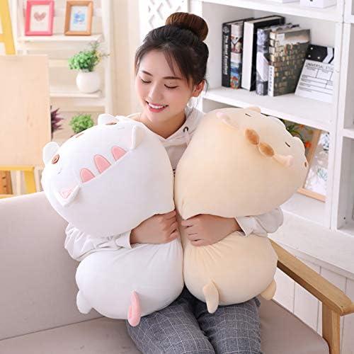 Kids Sleeping Kawaii Pillow AIXINI 8 inch Cute Bear Plush Stuffed Squishy Animal Cylindrical Body Pillow,Super Soft Cartoon Hugging Toy Gifts for Bedding