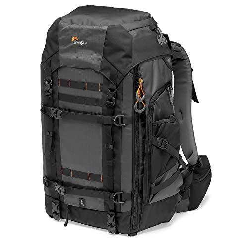 Lowepro LP37270-PWW Pro Trekker BP 550 AW II Outdoor Camera Backpack, Fits 15-inch Laptop/iPad, for Pro Mirrorless and DSLR, Gimbal, Drone, DJI Osmo Pro, DJI Mavic Pro, Black/Dark grey