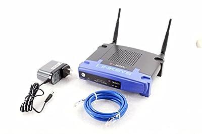 Linksys WRT54G-TM T-Mobile Hotspot Home Wireless Router
