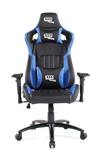 1337 Industries Silla GC890 (Negro Azul)