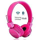 Termichy Bluetooth On-Ear Kopfhörer für Kinder