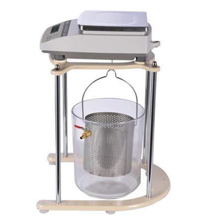 Hanchen Balanza de Densidad para Sólidos 0.1g Diseño Hidrostático Kit de Détermination de Densidad 2kg/5kg Báscula Electrónica de Precisión (5kg/0.1g)