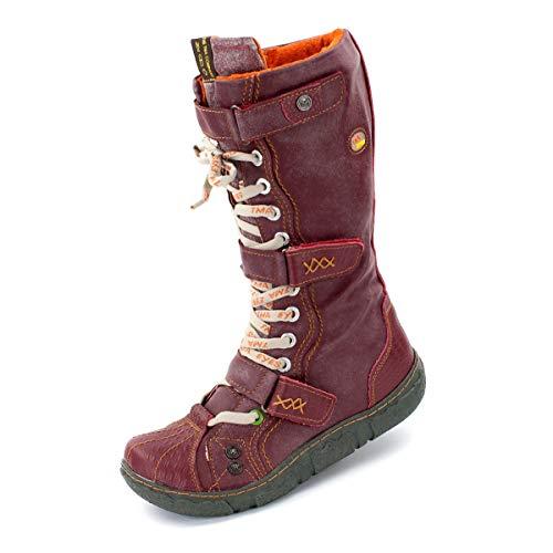 TMA Damen Winter-Stiefel, 7086 - Bordeaux - 37