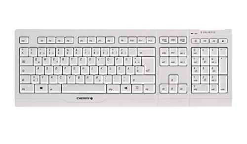 Cherry B.UNLIMITED 3.0 weiß-grau Wireless Multimedia Desktop (DE)